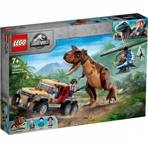 LEGO レゴ 76941 ジュラシック・ワールド カルノタウルスの大追跡 全国宅配買取