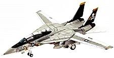 1144 F-14A アメリカ海軍 第84戦闘飛行隊 ジョリーロジャース 1978年 AJ203