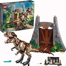 レゴ ジュラシック・パーク T-レックスが大暴れ 75936