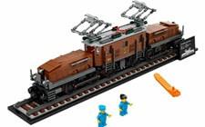 レゴ LEGO クリエイターエキスパート クロコダイル電気機関車 10277
