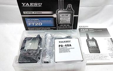 アマチュア無線 FT2D 八重洲無線 トランシーバー 144/430MHz