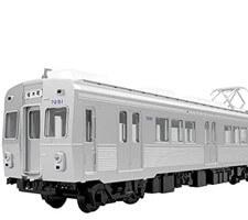 65009 東急7200系 冷房車 2輌セット