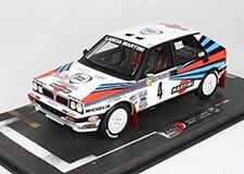 1/18 ランチアデルタ HF インテグラーレ 8V #4 ラリー・モンテカルロ 1989