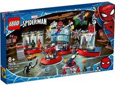 スーパー・ヒーローズ 76175 スパイダーマンのかくれ家への攻撃