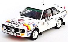 1/43 アウディ スポーツ クアトロ 1986年 National Breakdown Rally 優勝