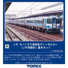 98405キハ185系 JR四国色 基本セット 4両