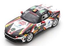 1/43 Abarth 124 Rally RGT LacRacing.Be No.39 Rally Monte Carlo 2020