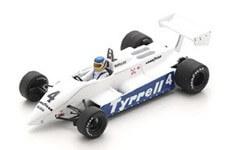 1/43 Tyrrell 011 No.4 South African GP 1982 Slim Borgudd