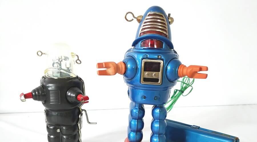 ブリキロボット 買取