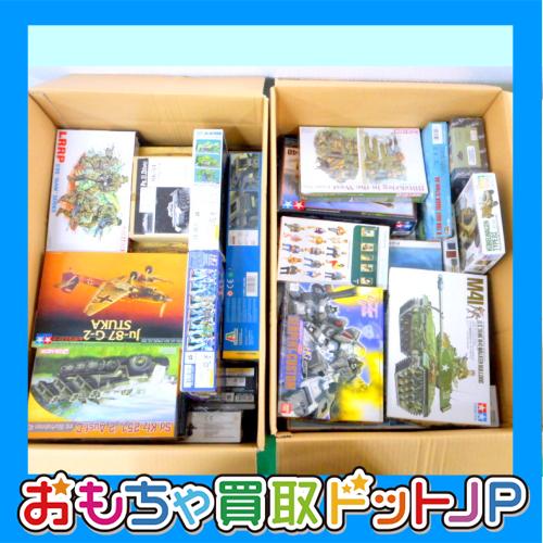神奈川県川崎市よりタミヤ・イタレリ・ハセガワなど戦車・軍用機などプラモデル各種お買取しました!