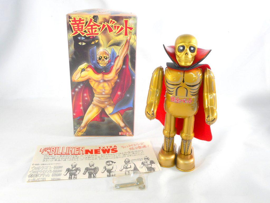 黄金バットは、昔なつかしのキャラクターです。