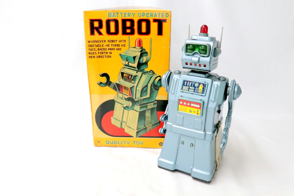 ヨネザワ【BATTERY OPERATED ROBOT】