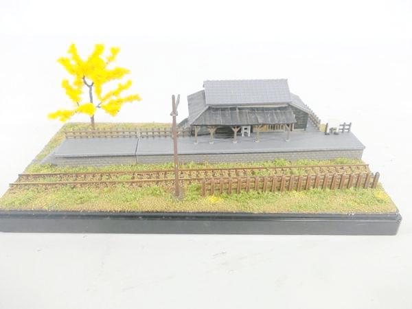 鉄道模型のメーカー製作済みジオラマ 買取
