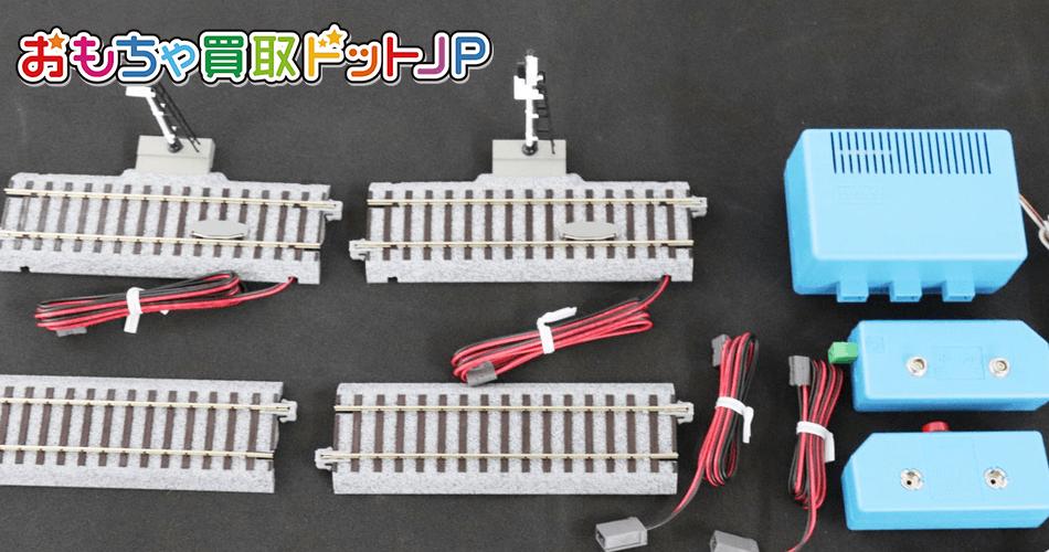 KATO【HOゲージ ユニトラック線路セット&自動信号機セット】